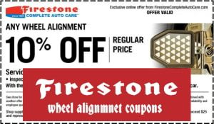 Firestone Alignment Coupons