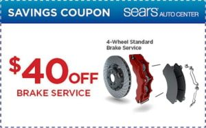 Sears Brakes Coupons