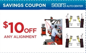 Sears Wheel Alignment Coupons 2018 Free Printable Discounts
