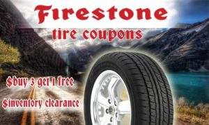 Firestone Tires Coupon