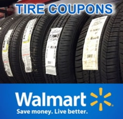 Walmart tire coupons