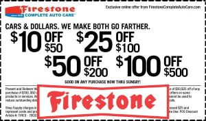 Firestone Coupon