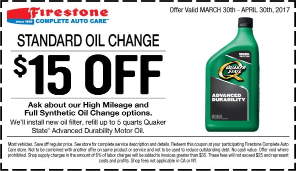$ 30% OFF Synthethic Blend Oil Change. Over bought $ $ 31% OFF Full Synthetic Oil Change. Over 1, bought Full Synthetic Oil Change; The Fine Print. Promotional value expires days after purchase. Amount paid never expires. Offer valid up to 5 quarts. Tax and shop supplies not included ($)%().