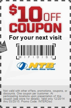 Ntb Oil Change Coupon >> Ntb Coupons 2018 Get Up To 40 Off