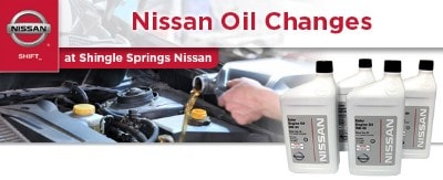 Nissan oil change coupon