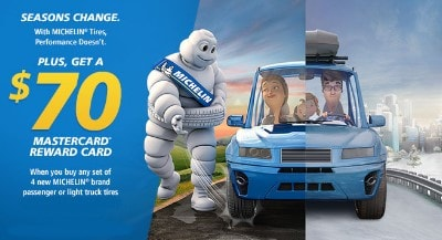 Michelin Tire Rebate - Get The Premium Quality Tires For Less Money