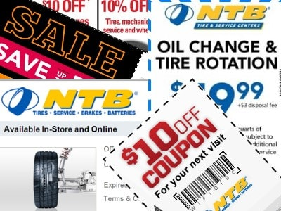 Save on all types of motor oil change with NTB oil change coupons