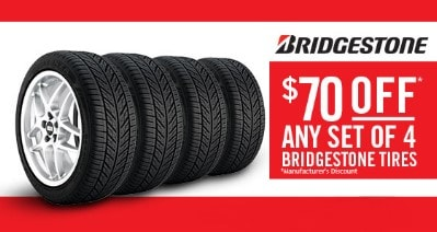 Bridgestone Tire Coupons