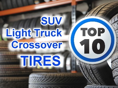 10 Best SUV/Light Truck/Crossover All-Season Tires