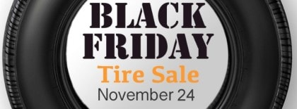 Black Friday Tire Deals 2017