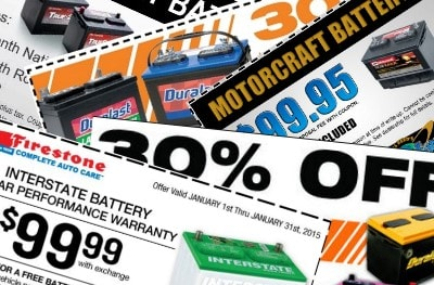 car battery coupons