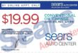 Sears oil change price list by motor oil type: conventional, semi synthetic, full synthetic or high mileage
