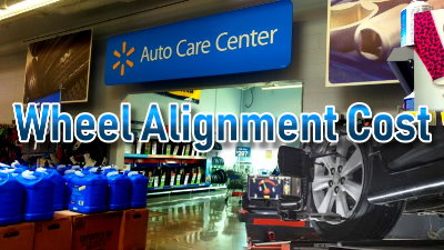 Find how much front end alignment at Walmart auto centers