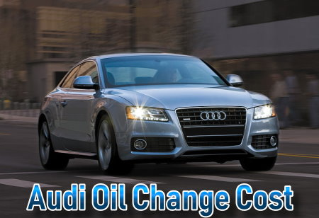 Find how much you will pay on your next Audi oil change, prices for synthetic blend, full synthetic, standard or high mileage motor oil