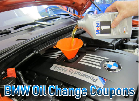 Get BMW oil change coupons here and save up to 35% on conventional. synthetic blend, full synthetic or high mileage motor oil