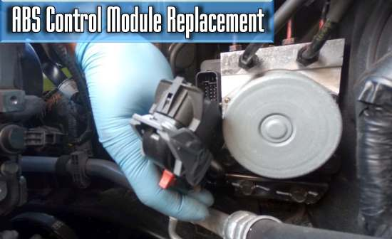 how much does it cost to replace the ABS Control Module