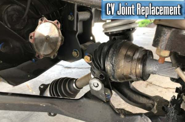 how much does it cost to replace a cv joint