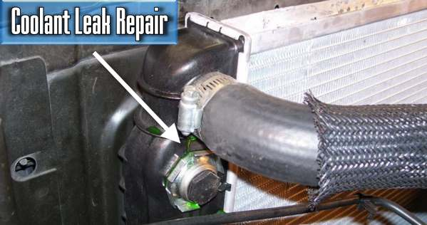 how much does it cost to repair the coolant leak