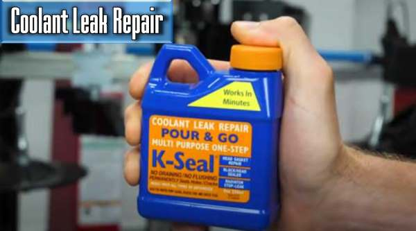 how much will i pay for the coolant leak repairing