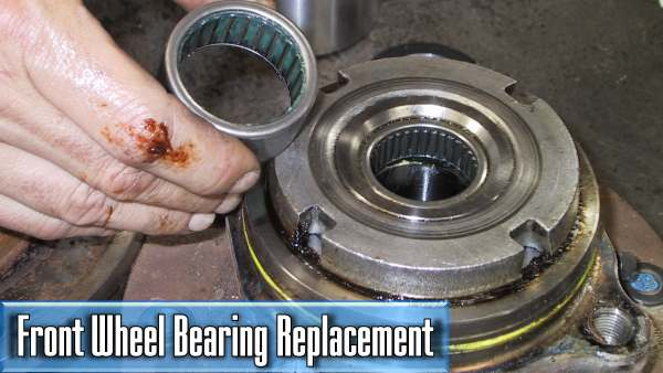 how much does it cost to replace the front wheel bearing