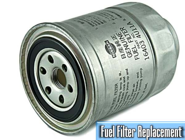 what is the average price of a fuel filter replacement