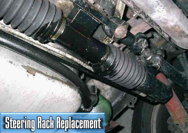 how much will i pay for the steering rack replacement