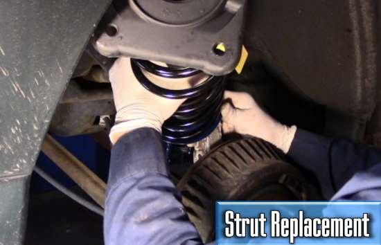 how much does it cost to replace a car strut