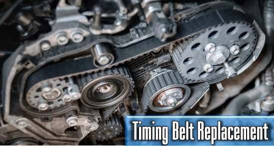 what is the average cost of timing belts replacement