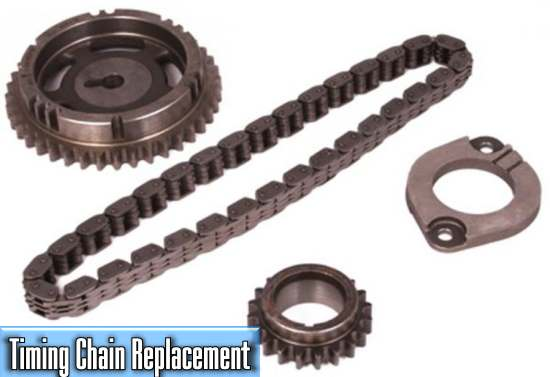 how much does it cost to replace a car timing chain