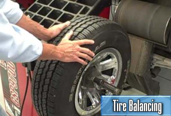 the average cost of a car tire balancing