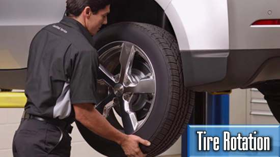 how much will i pay for tires rotation