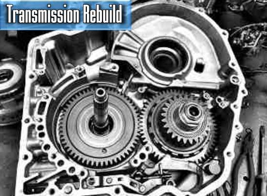 the average cost of the car transmission rebuild