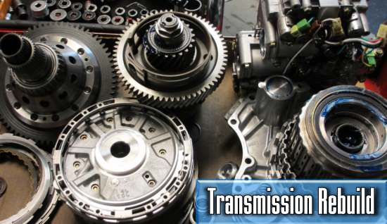 what is the price of the car transmission rebuild