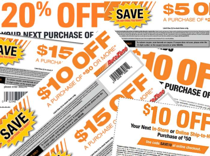AutoZone Coupon Collection
