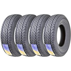 4 New Premium Trailer Tires ST235/85R16 Top For Heavy Loads