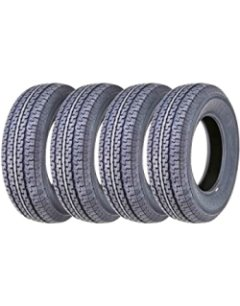 Set 4 FREE COUNTRY Premium Trailer Tires Top for Heavy Loads
