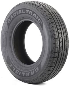 Carlisle Radial Trail HD Trailer Top Ply Tire for Towing